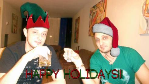 Merry Christmas from Eleventh Sun (Boris & Jacob)